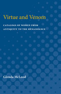 Cover image for 'Virtue and Venom'