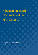 Book cover for 'Athenian Financial Documents of the Fifth Century'