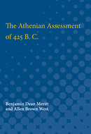 Cover image for 'The Athenian Assessment of 425 B. C.'