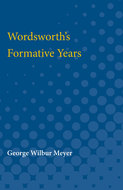 Cover image for 'Wordsworth's Formative Years'