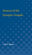 Cover image for 'Sources of the Synoptic Gospels'