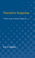 Book cover for 'Narrative suspense'