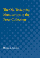 Cover image for 'The Old Testament Manuscripts in the Freer Collection'