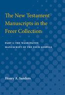 Cover image for 'The New Testament Manuscripts in the Freer Collection'