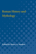 Book cover for 'Roman History and Mythology'