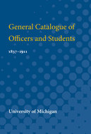 Cover image for 'General Catalogue of Officers and Students'