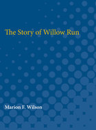 Cover image for 'The Story of Willow Run'