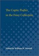 Cover image for 'The Coptic Psalter in the Freer Collection'