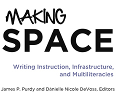 Book cover for 'Making Space'
