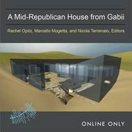 Book cover for 'A Mid-Republican House from Gabii'
