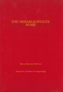 Cover image for 'The Herakleopolite Nome'