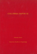 Cover image for 'Columbia Papyri XI'