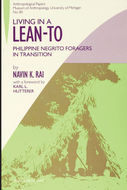 Book cover for 'Living in a Lean-To'