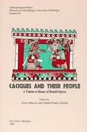Book cover for 'Caciques and Their People'
