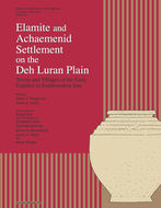 Book cover for 'Elamite and Achaemenid Settlement on the Deh Luran Plain'