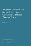 Book cover for 'Property Control and Social Strategies in Settlers in a Middle Eastern Plain'