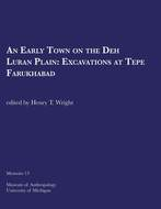 Book cover for 'An Early Town on the Deh Luran Plain'