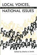 Cover image for 'Local Voices, National Issues'