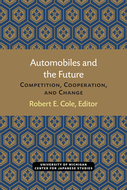 Book cover for 'Automobiles and the Future'