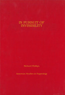 Book cover for 'In Pursuit of Invisibility'