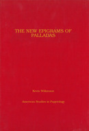 Cover image for 'The New Epigrams of Palladas'