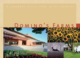 Book cover for 'Domino's Farms'
