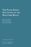 Book cover for 'The Paleo-Indian Occupation of the Holcombe Beach'