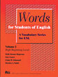 Cover image for 'Words for Students of English, Vol. 2'