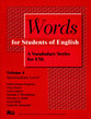 Cover image for 'Words for Students of English, Vol. 4'