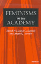 Cover image for 'Feminisms in the Academy'