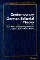 Cover image for 'Contemporary German Editorial Theory'