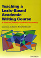 Cover image for 'Teaching a Lexis-Based Academic Writing Course'