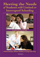 Cover image for 'Meeting the Needs of Students with Limited or Interrupted Schooling'
