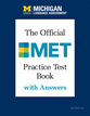 Cover image for 'The Official MET Practice Test Book with Answers'