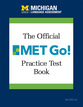 Cover image for 'The Official MET Go! Practice Test Book'