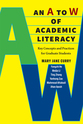 Cover image for 'An A to W of Academic Literacy'