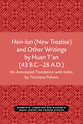 Cover image for 'Hsin-lun (New Treatise) and Other Writings by Huan T'an (43 B.C.–28 A.D.)'
