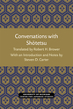 Cover image for 'Conversations with Shotetsu'