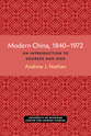Cover image for 'Modern China, 1840–1972'