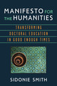 Cover image for 'Manifesto for the Humanities'