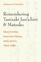 Cover image for 'Remembering Tanizaki Jun'ichiro and Matsuko'