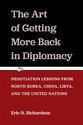 Cover image for 'The Art of Getting More Back in Diplomacy'