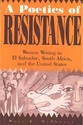 Cover image for 'A Poetics of Resistance'