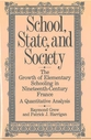 Cover image for 'School, State, and Society'