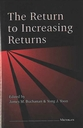 Cover image for 'The Return to Increasing Returns'