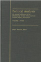 Cover image for 'Political Analysis'