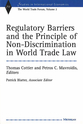 Cover image for 'Regulatory Barriers and the Principle of Non-discrimination in World Trade Law'