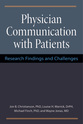 Cover image for 'Physician Communication with Patients'