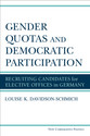 Cover image for 'Gender Quotas and Democratic Participation'