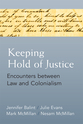 Cover image for 'Keeping Hold of Justice'